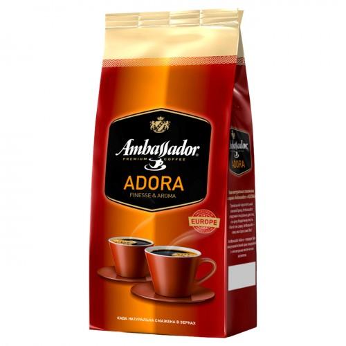 Кава натуральна смажена в зернах «Adora», 1 кг ТМ «Ambassador»