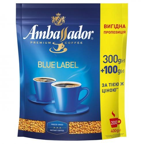 Кава розчинна сублімована «Premium», 300+100 г ТМ «Ambassador»