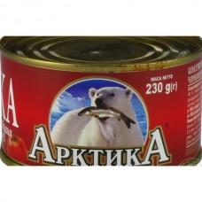 Бички обсмажені у томатному соусі Арктика, 230 г