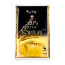 Ріжки звичайні гладенькі Pasta Macceroni №103 500 г TM «Belinni».