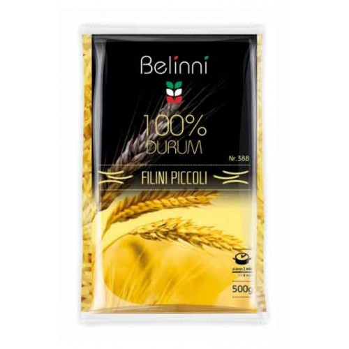 Вермішель Pasta Filini Piccoli №388 500 г TM «Belinni».