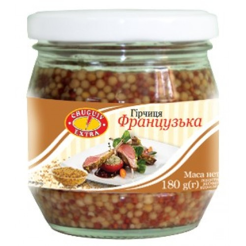 Гірчиця «Французька » 180г Чугуєв Продукт