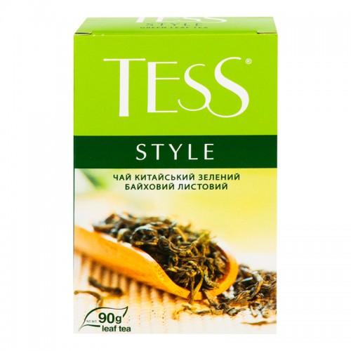 """Чай китайський зелений байховий листовий """"Style"""" TM """"TESS"""""""