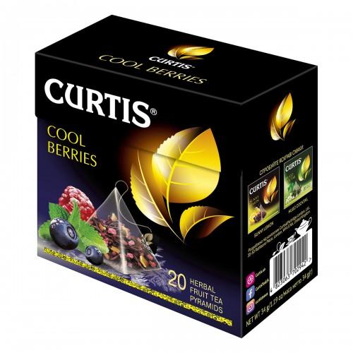 """Чай Curtis """"Cool Berries"""" 20 пакетиків 34 г (20*1,7г)"""