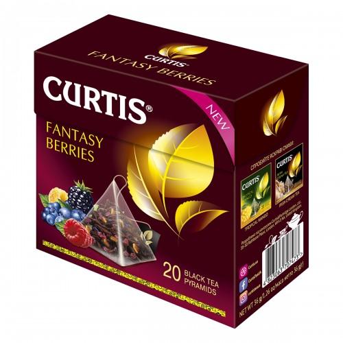 """Чай Curtis """"Fantasy Berries"""" 20 пакетиків 34 г (20*1,7г)"""