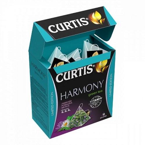 Чай Сurtis Harmony Green tea 32,4г (18*1.8)