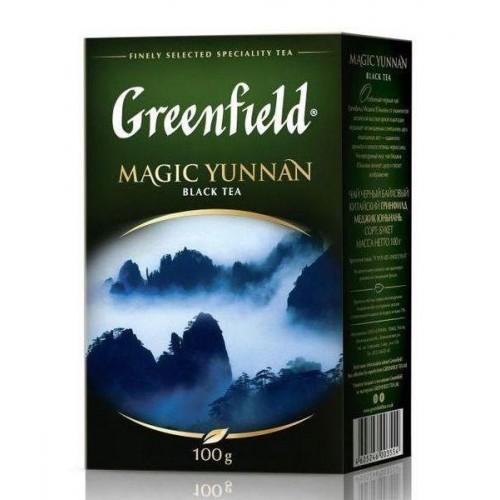Чай китайський чорний байховий листовий «Magic Yunnan», 100 г ТМ «Greenfield»