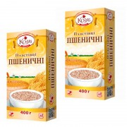 Пластівці пшеничні миттєвого приготування
