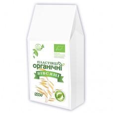 Пластівці вівсяні органічні миттєвого приготування