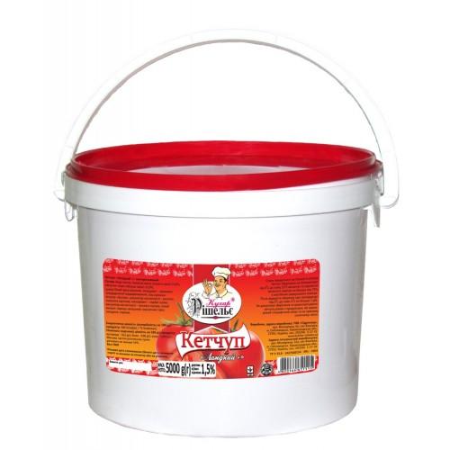 Кетчуп Лагідний 5 кг «Кухар Рішельє»