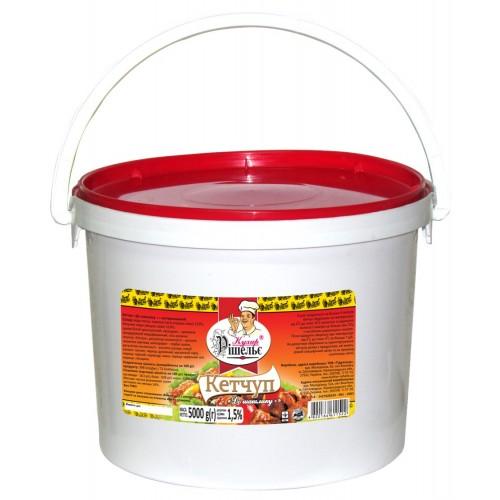 Кетчуп До шашлику 5 кг «Кухар Рішельє»