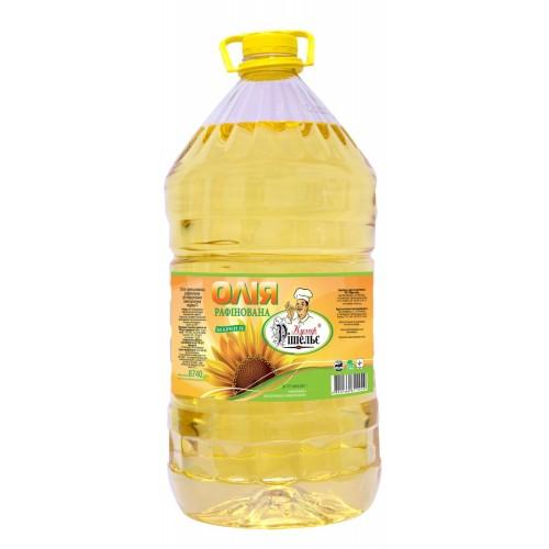 "Олія соняшникова рафінована 9,5л ""Кухар Рішельє"""