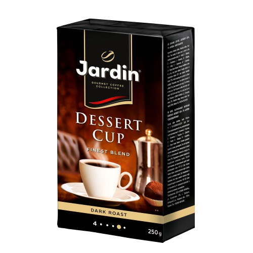 Кава натуральна смажена мелена «Dessert Сup», ТМ «Jardin»
