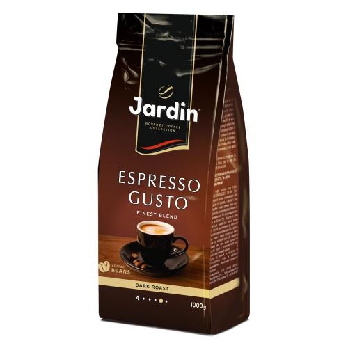 Кава натуральна смажена в зернах  «Espresso Gusto», ТМ «Jardin»