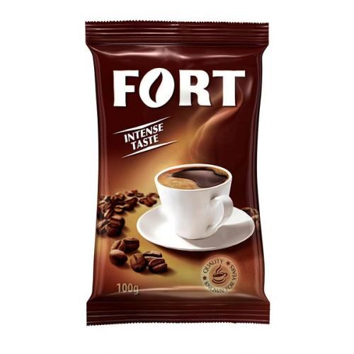 Кава натуральна смажена мелена, 100 г ТМ «Fort»