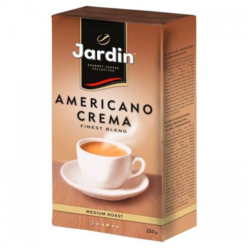 Кава натуральна смажена мелена «Americano Crema» 250 г, ТМ «Jardin»