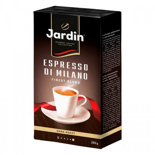 Кава натуральна смажена мелена «Espresso di Milano» 250 г, ТМ «Jardin»