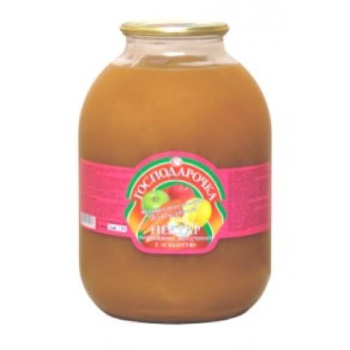 Морковно - яблучний нектар з м'якоттю Господарочка, 3 л