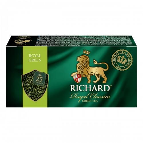 "Чай ""Річард"" ""Royal Green"" 25 пакетиків 50 г (25*2г)"