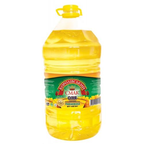"""Олія соняшникова рафінована 9,5л """"Королівський смак"""""""