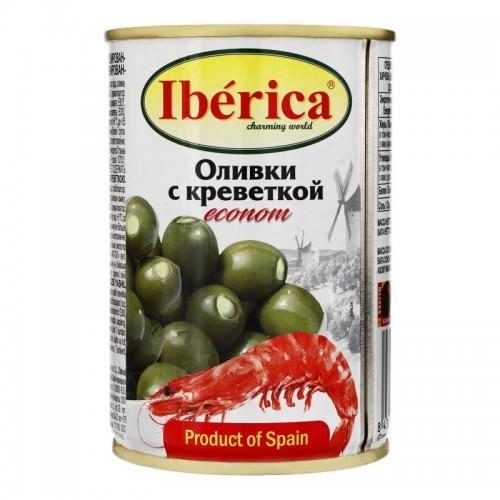 """Оливки """"IBERICA"""" фаршировані креветкою 280 г"""