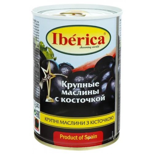 "Маслини ""IBERICA"" великі  з/к  ж/б  420 г"