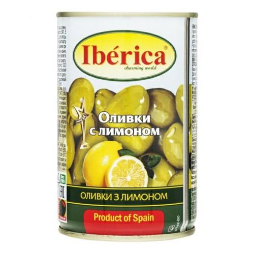 """Оливки """"IBERICA"""" з лимоном 300 г"""