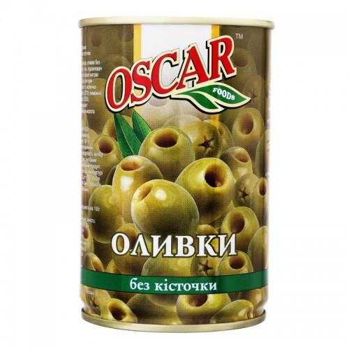 """Оливки """" Oscar """"  б/к  ж/б  400 г"""