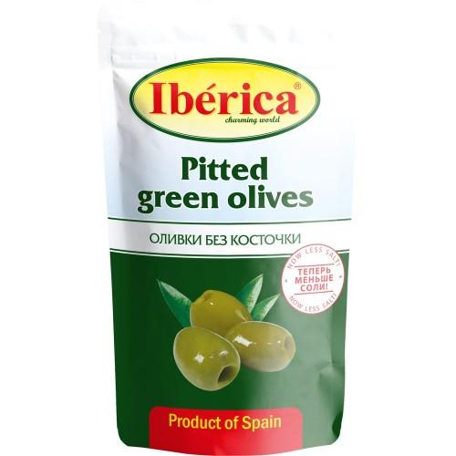 "Оливки ""IBERICA""  б/к  170 г пакет"