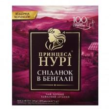 Чай черный байховый мелкий в пакетиках «Завтрак в Бенгалии», 200 г ТМ «Принцесса НУРИ»