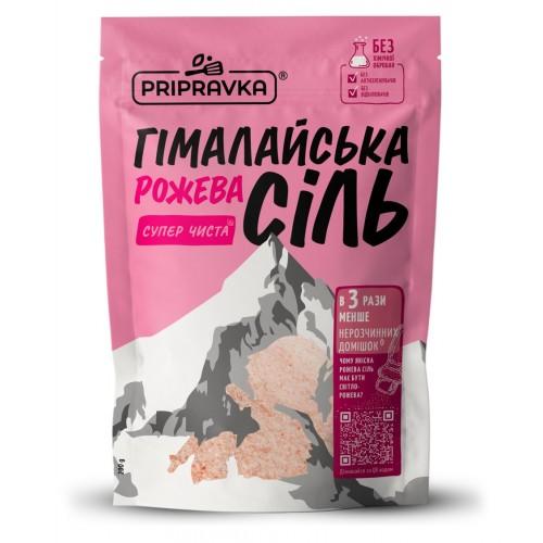 """Сіль харчова Гімалайська рожева 200  г """"Приправка"""""""