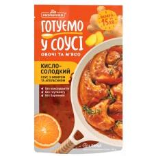 """Готуємо в соусі овочі та м'ясо. Кисло-солодкий соус з імбиром та апельсином 140 г """"Приправка"""""""