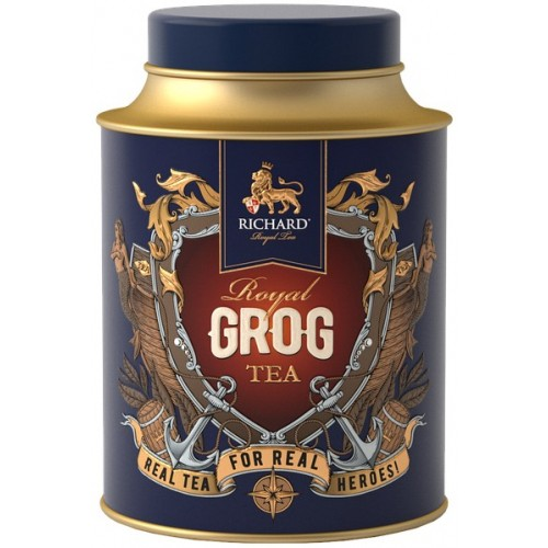 """Чай """"Річард"""" """"Royal Grog Tea"""" 80 г"""