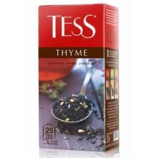 """Чай індонезійський чорний байховий дрібний з ароматом лимону і чебрецю в пакетиках """"Thyme"""", 37,5 г  TM """"TESS"""""""