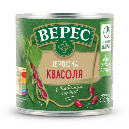 Квасоля червона 400 г «Верес» ж/б