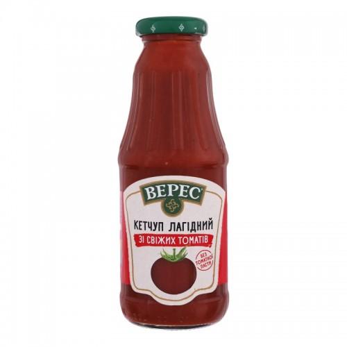 Кетчуп зі свіжих томатів лагідний 345 г с/б «Верес»
