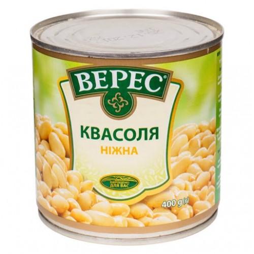 Квасоля ніжна 400 г ж/б «Верес»