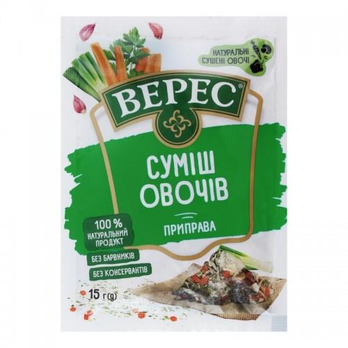 Приправа суміш овочів 15 г п/п «Верес»