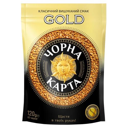"""Кава розчинна, """"Gold"""" 120 г ТМ «Чорна Карта»"""