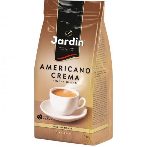 Кава натуральна смажена в зернах  «Americano Crema», ТМ «Jardin» 250г