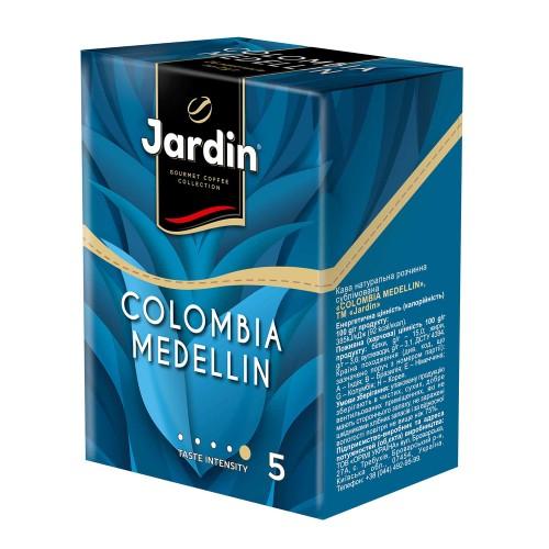 Кава натуральна розчинна сублімована в стіках «Colombia Medellin», 52 г ТМ «Jardin»