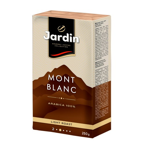 Кава натуральна смажена мелена «Mont Blanc» 250 г, ТМ «Jardin»