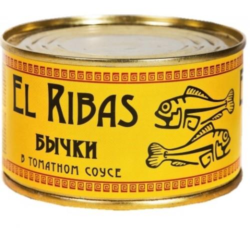Бички у томатному соусі, El Ribas, 240 г
