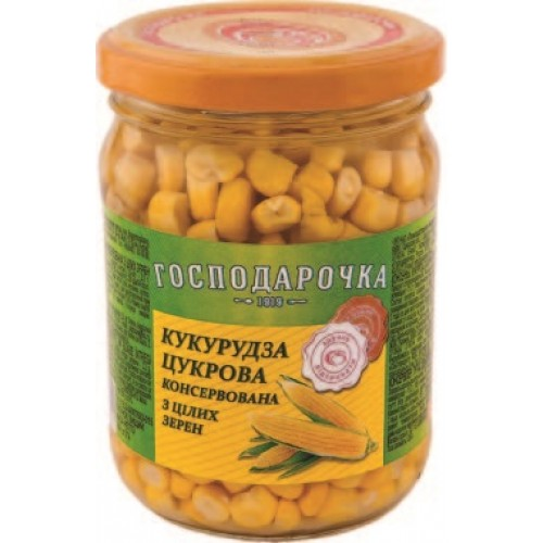 "Кукурудза цукрова ""Господарочка"" 250 г  с/б"