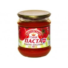 "Томатна паста ""Класична"" 480г с/б т/оф ""Королівський смак"""