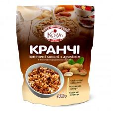 1Кранчи - Запеченные мюсли с арахисом в молочно-сахарном сиропе