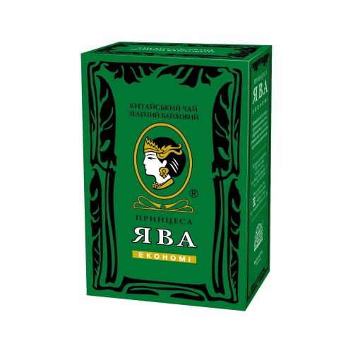 Чай китайський зелений байховий листовий «Економі» 180 г ТМ «Принцеса ЯВА»