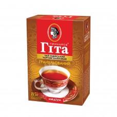 Чай індонезійський чорний байховий дрібнолистовий «Медіум» 85 г ТМ «Принцеса ГІТА»