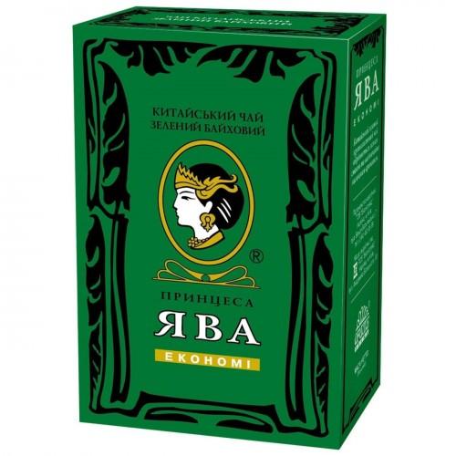 Чай китайський зелений байховий листовий «Економі» 85 г ТМ «Принцеса ЯВА»