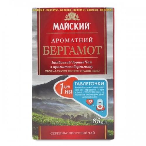 """Чай Майський  """"Ароматний бергамот""""  85гр."""
